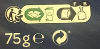Pétales salés - Instrucciones de reciclaje y/o información de embalaje - fr