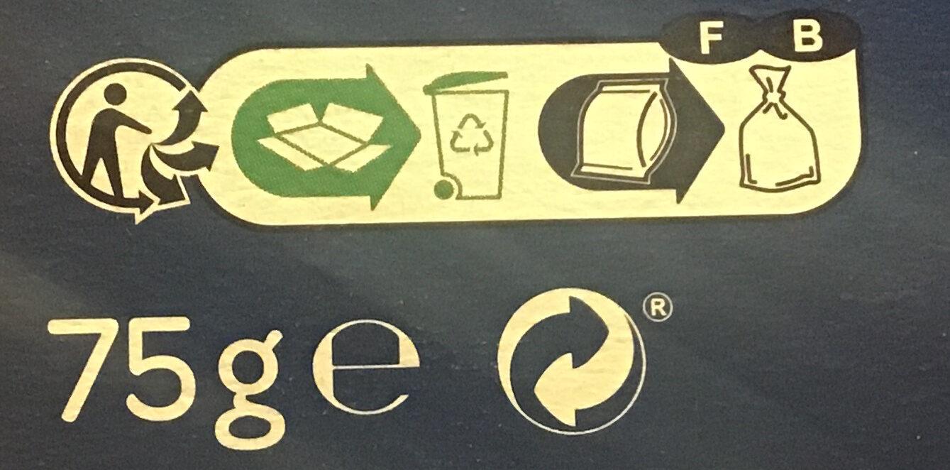 Pétales salés - Instruction de recyclage et/ou information d'emballage - fr