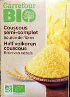 Couscous semi-complet - grains moyens bio - Produit - fr