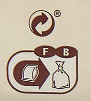Spaghetti semi-complets - Instruction de recyclage et/ou informations d'emballage - fr