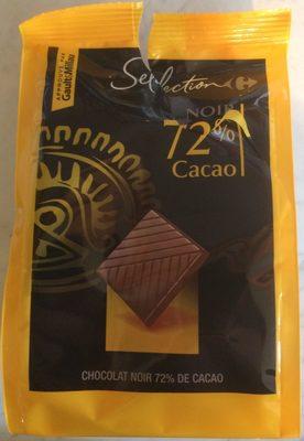 Chocolat noir 72% cacao - Produit