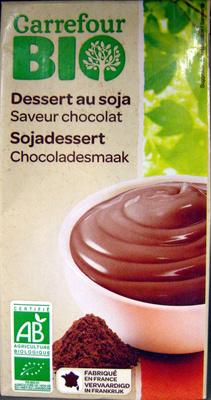 Dessert au soja, Saveur chocolat - Produit - fr