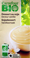 Dessert au soja, Saveur vanille - Product