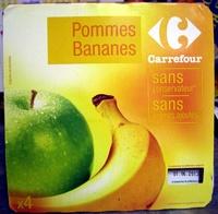 Pomme Banane Compotes allégées en sucres* - Produit - fr