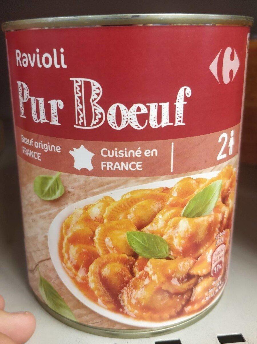 Ravioli, Pur Bœuf - Product - fr
