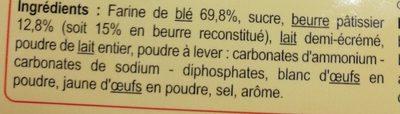 Le Petit Beurre - Ingrediënten - fr