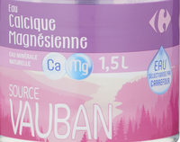 Eau Calcique Magnésienne - Product - fr