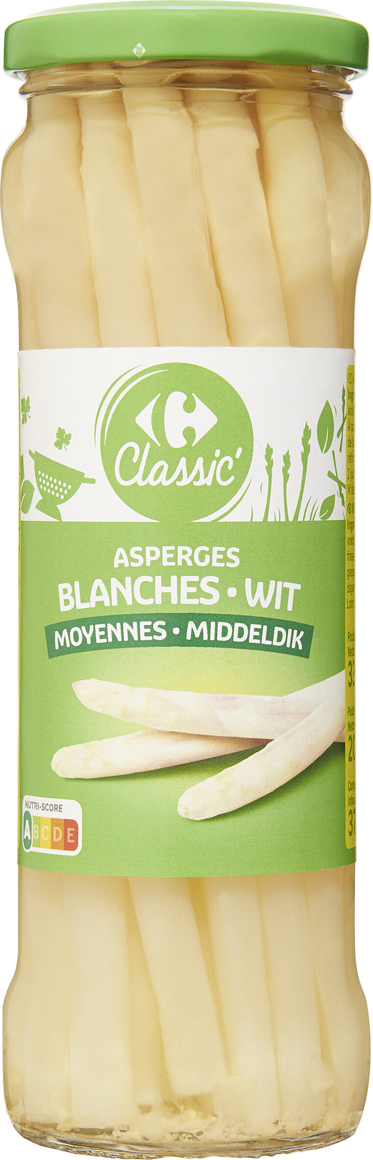 Asperges blanches grosses - Product - fr