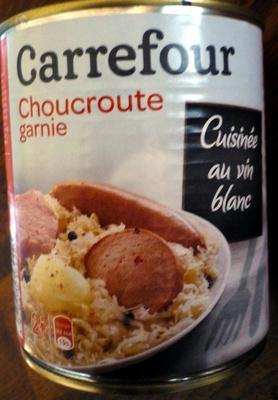 Choucroute garnie Pur Porc - Produit - fr