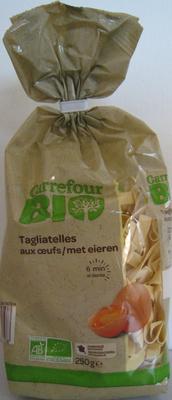 Tagliatelles aux œufs Bio - Produit