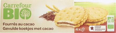 Fourrés au cacao - Produit - fr