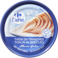 Thon albacore en tranches au naturel - Prodotto - fr