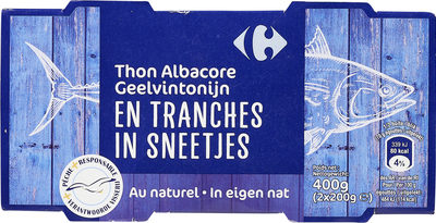 Thon albacoreEn tranches - Product