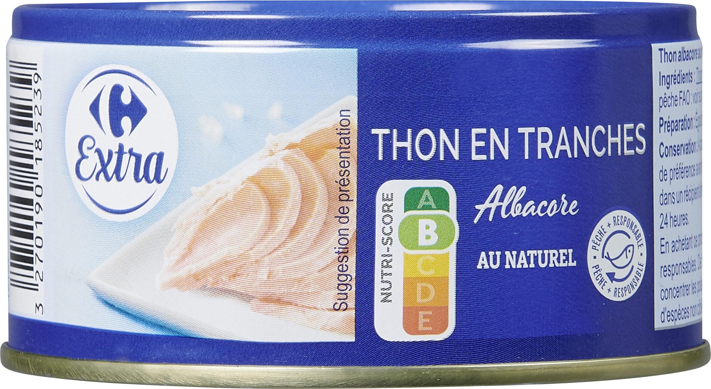 Thon albacore En tranches - Prodotto - fr