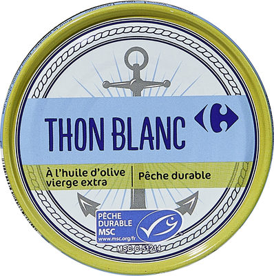 Thon blanc - Produit