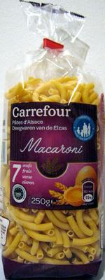 Macaroni Pâtes d'Alsace - Produit