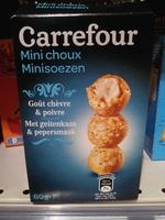 Mini choux goût chèvre & poivre - Product