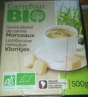 Sucre Blond de canne Morceaux - Produit - fr