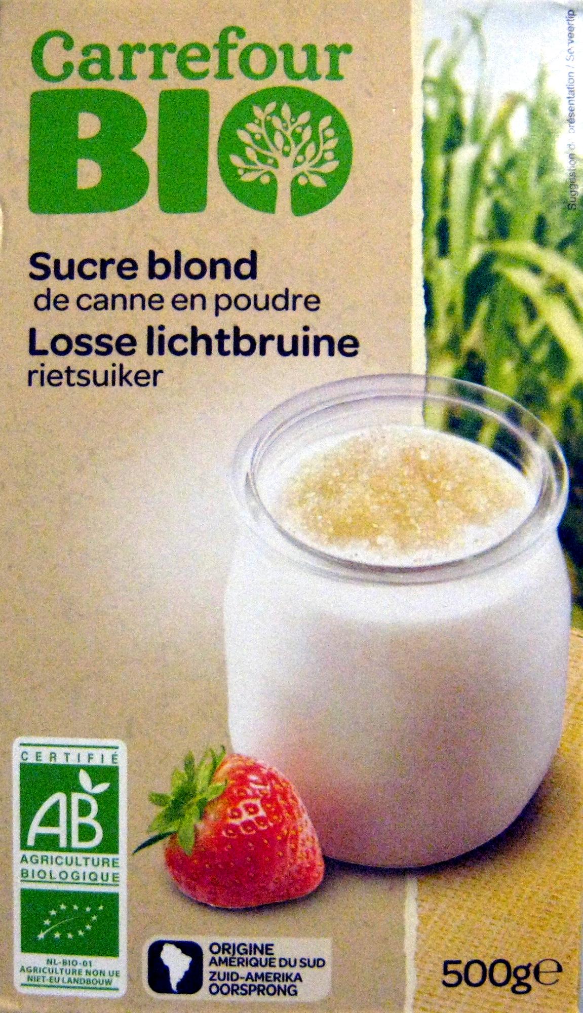 Sucre blond de canne - Produit - fr