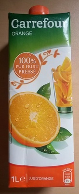 Orange, 100 % Pur Fruit Pressé - Product - fr