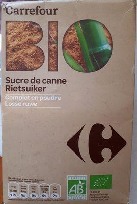 Sucre de canne bio complet en poudre - Product