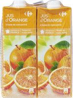 Jus d'orange à base de concentré - Prodotto - fr