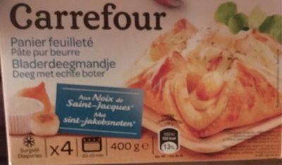 Panier Feuilleté aux Noix de Saint-Jacques - Product - fr