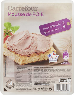 Mousse de foie - Product