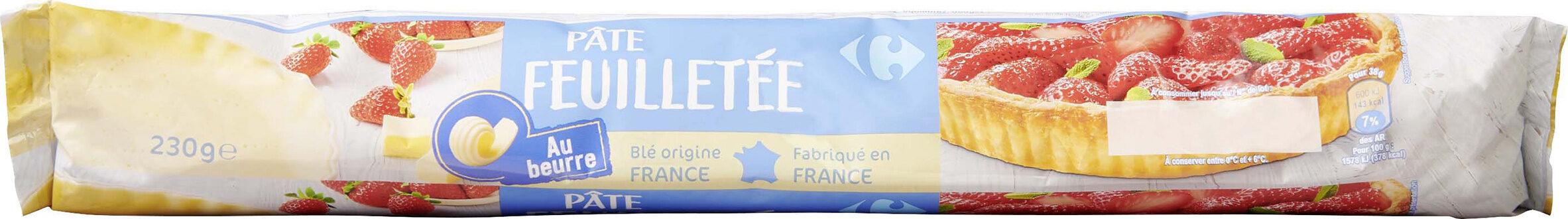 Pâte feuilletée - Prodotto - fr