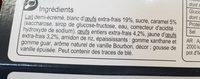 L'île flottante - Ingrédients - fr
