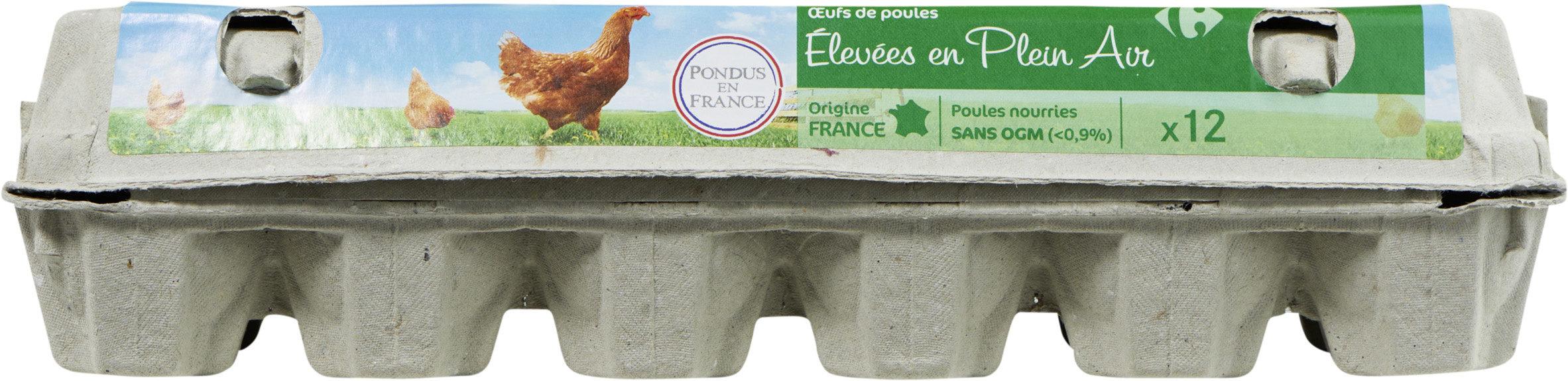 Œufs de poules Elevées en plein air - Produit