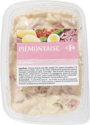Piémontaise au jambon - Produit - fr
