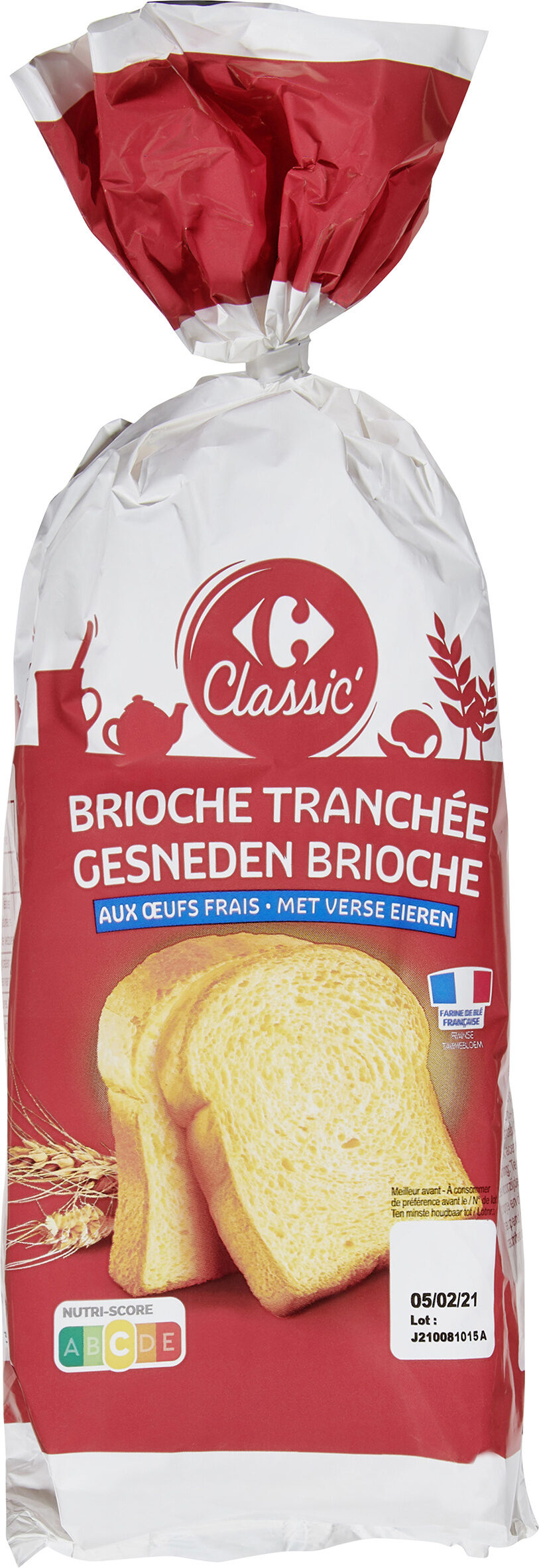 Brioche Tranchée - Product - fr