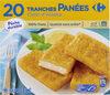 20 Tranches panées Colin d'Alaska - Product
