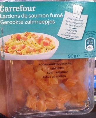 Lardons de saumon fumé - Product
