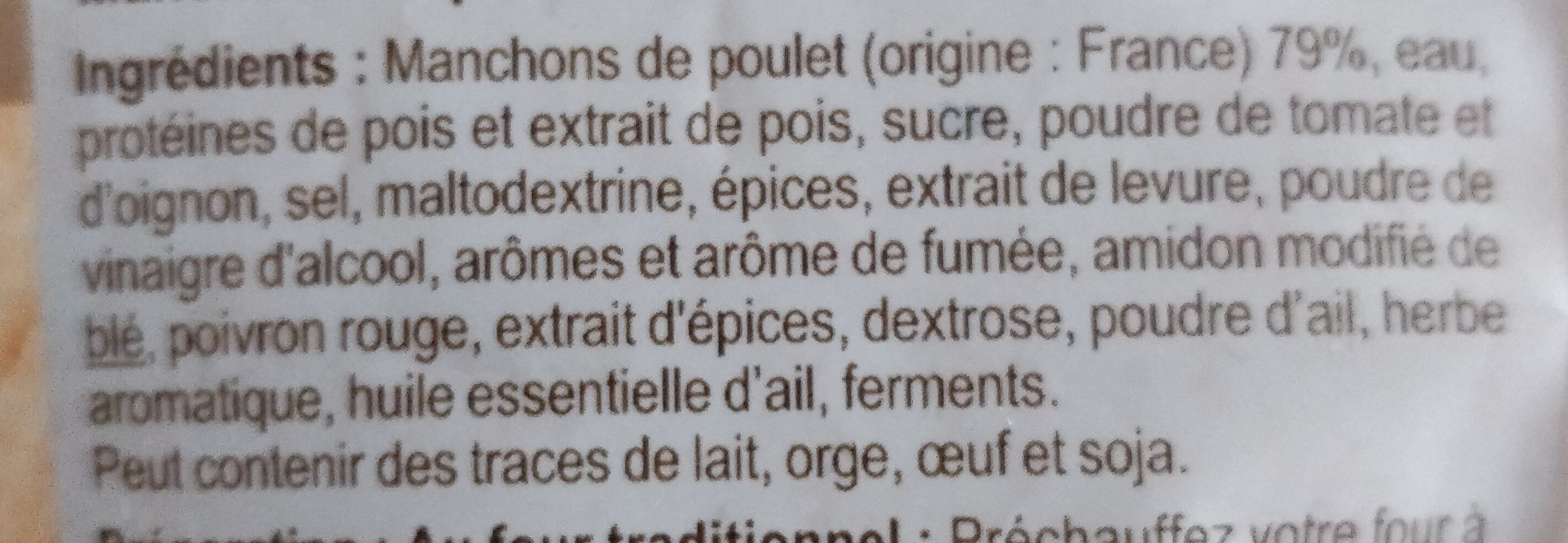Grignottes de poulet Tex Mex - Ingredients