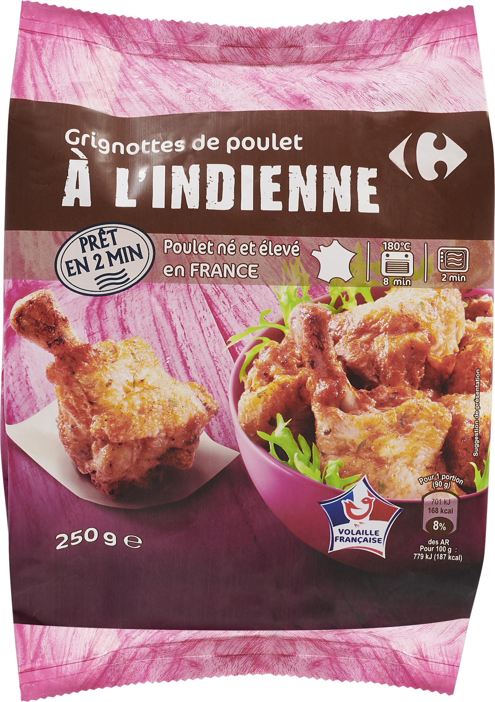 Grignottes de poulet A l'indienne - Product - fr