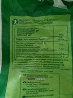 Oignon émincé - Valori nutrizionali - fr