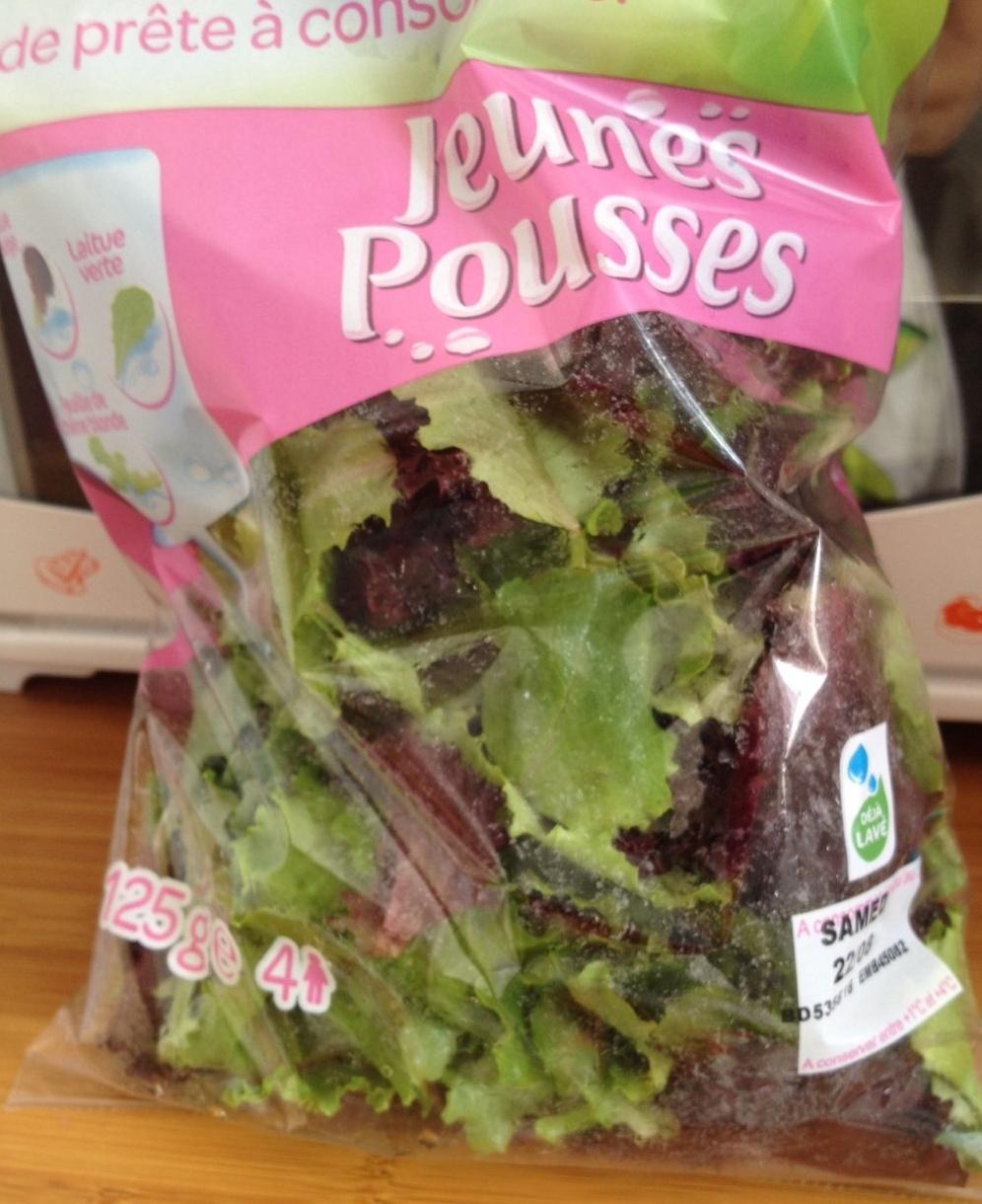 Salade prête à consommer, Jeunes Pousses (4 portions) - Product - fr
