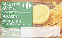 Carottes râpées - Product