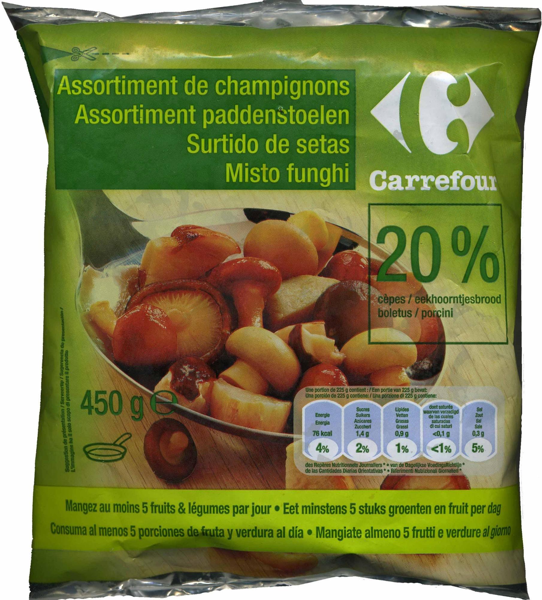 Assortiment de champignons - Producto