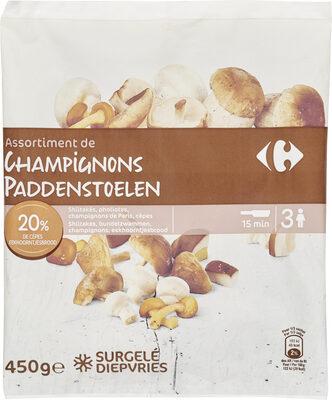 Assortiment de champignons - Producte