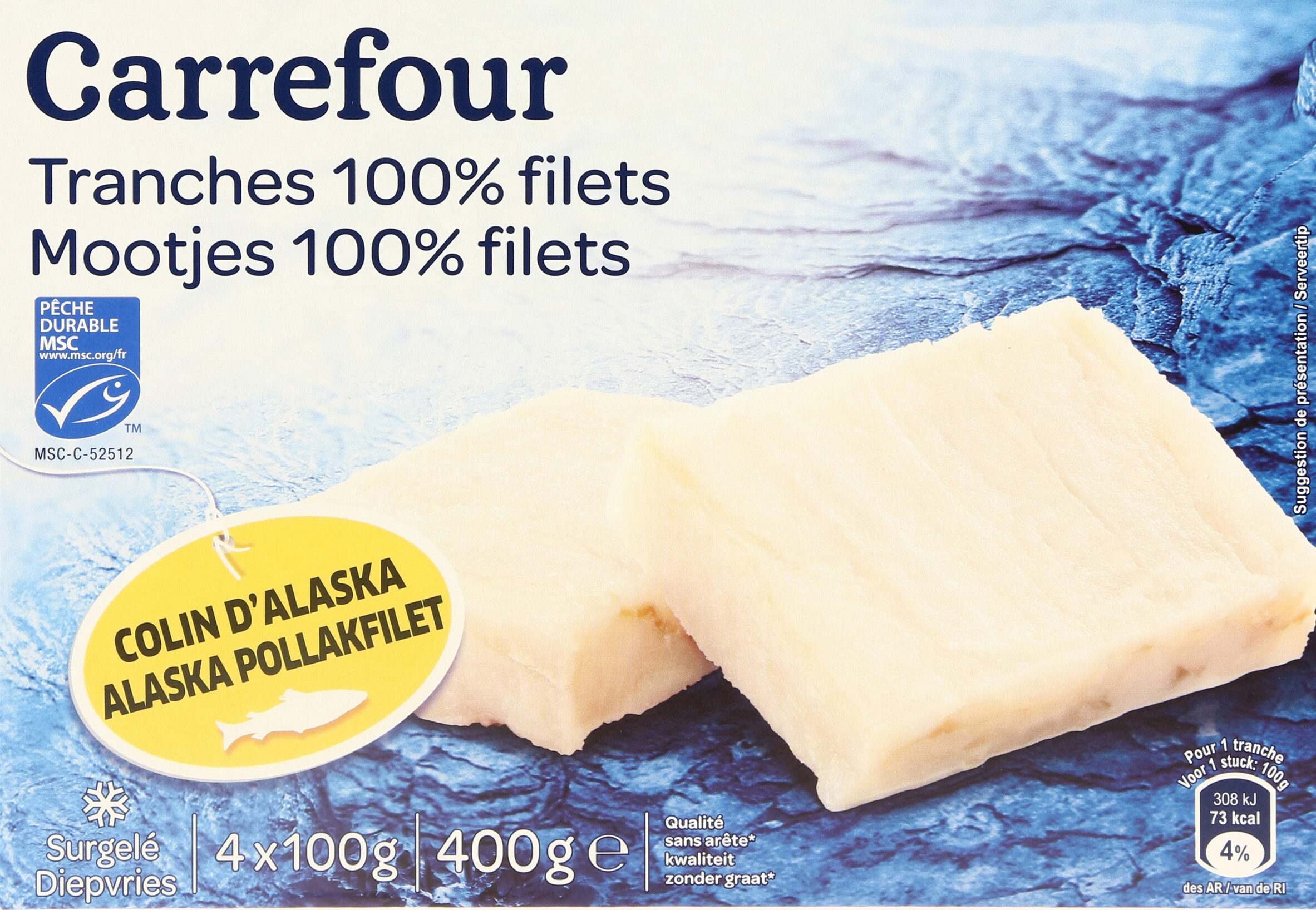 Filets de Colin - Product - fr