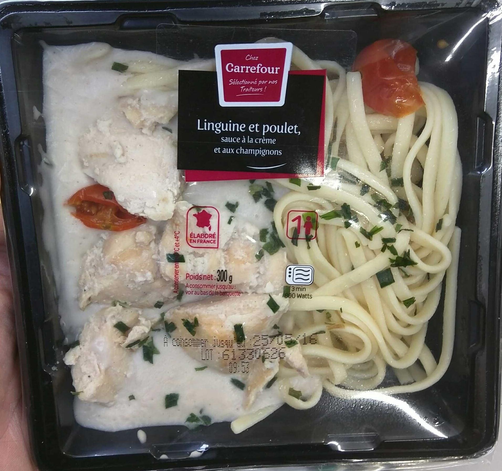 Linguine et poulet - Produit - fr