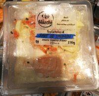 Pavé de Saumon et Tagliatelles - Product - fr