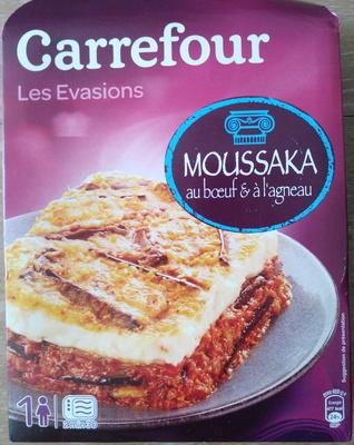 Moussaka au boeuf et à l'agneau - Produit - fr