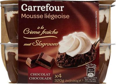 Mousse de chocolate - Producto