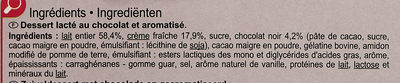 Mousse de chocolate - Ingredientes