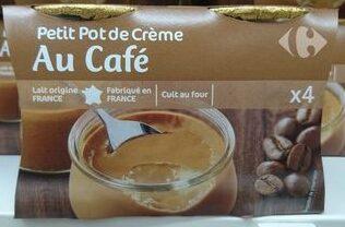 Petit Pot de Crème au Café - Produit