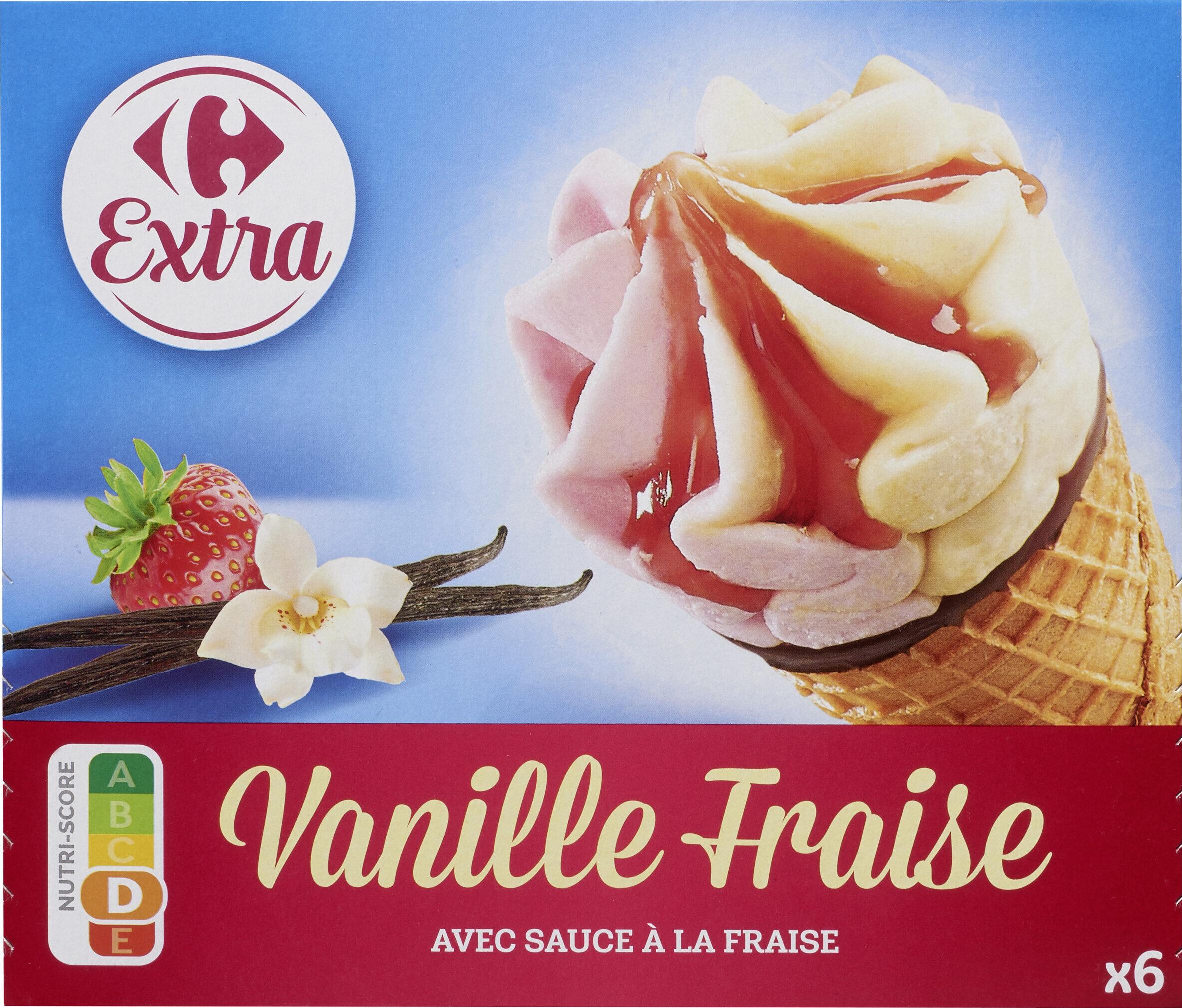 Vanille Fraise - Produit - fr